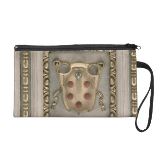 Medici coat of arms, from the soffit of the church wristlet purse