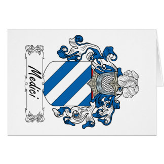 Medici Family Crest Greeting Cards