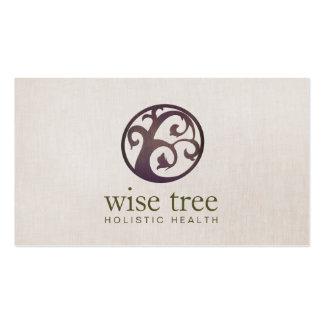 Medicina alternativa del árbol de madera y salud
