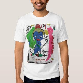 Medicina Buda con la camiseta del dragón Playera