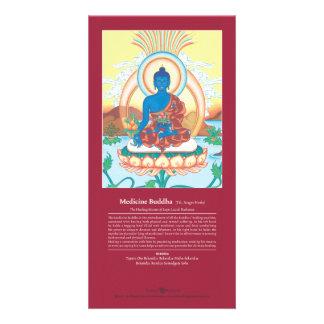 Medicina Buda de la TARJETA - con la explicación Tarjetas Personales