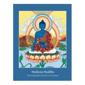 Medicina Buda de la TARJETA - con la parte Postal