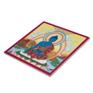 Medicina Buda - el amo curativo de la BALDOSA Azulejo Cuadrado Grande
