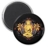 Medicina Buda en la meditación Imán Para Frigorifico