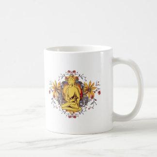 Medicina Buda en la meditación Tazas De Café