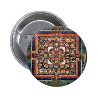 Medicina Buda Pin Redondo De 2 Pulgadas