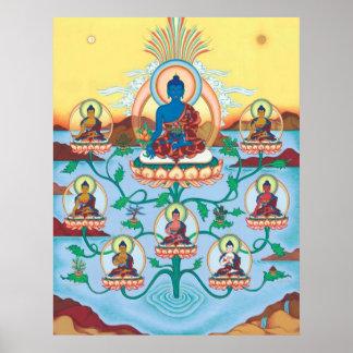 Medicina Buddhas del POSTER 8 - a partir de $14,25
