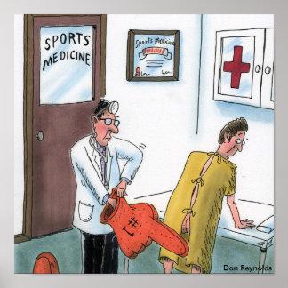 Medicina de deportes del poster el | de Dan Reynol
