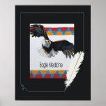 Medicina de Eagle Posters
