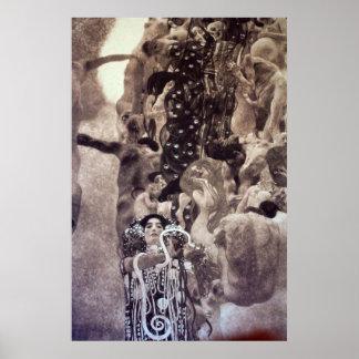 Medicina de Gustavo Klimt Impresiones