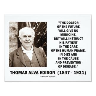 Medicina del doctor Of Future Give No de Thomas Invitacion Personal