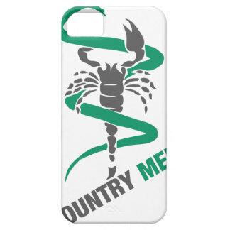 Medicina del país - serpiente/escorpión iPhone 5 carcasas