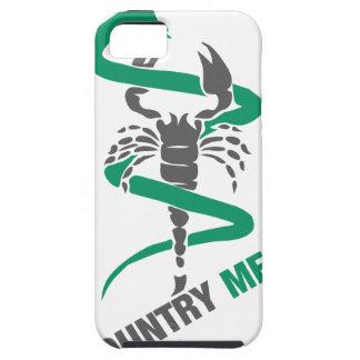 Medicina del país - serpiente/escorpión iPhone 5 fundas