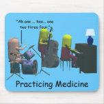 Medicina - medicina practicante - tapetes de ratón