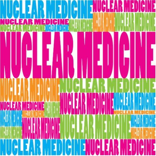 Medicina nuclear colorida escultura fotografica