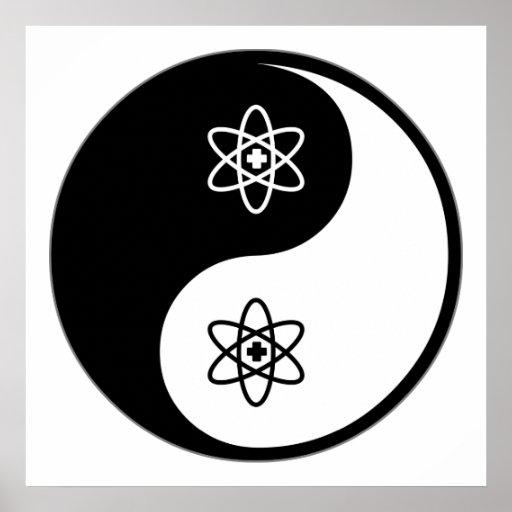 Medicina nuclear de Yin Yang Poster