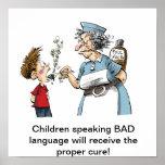 ¡Medicina para la MALA lengua! Impresiones