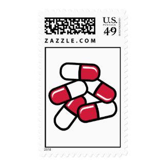 Medicina roja de las píldoras