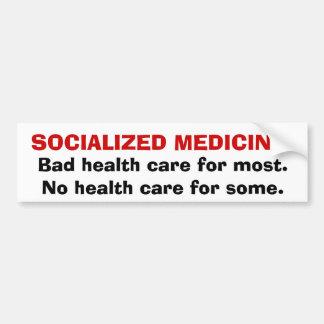 MEDICINA SOCIALIZADA: Mala atención sanitaria para Pegatina Para Auto