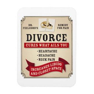 Medicinal Divorce Label Vinyl Magnets