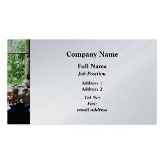 Medicine and Hurricane Lamp on Desk - Platinum Double-Sided Standard Business Cards (Pack Of 100)