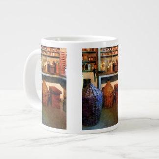 Medicine Bottles and Baskets Giant Coffee Mug