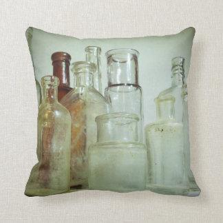 Medicine Bottles Throw Pillows