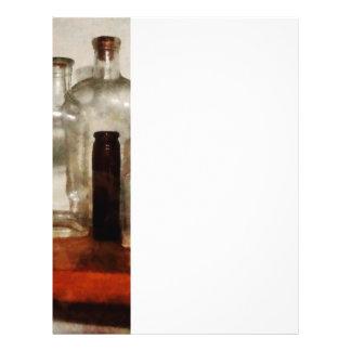 Medicine Bottles Tall and Short Flyer