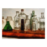 Medicine Bottles Tall and Short Personalized Invites