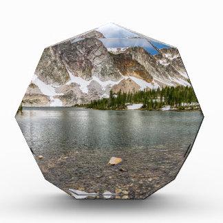 Medicine Bow Lake View Acrylic Award