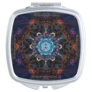 Medicine Buddha Bhaisajyaguru- Healer of suffering Compact Mirror