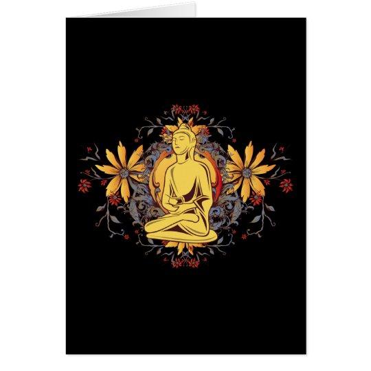 Medicine Buddha in Meditation Card