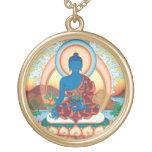 Medicine Buddha round necklace - Master of Healing
