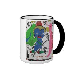 Medicine Buddha with Dragon Mug