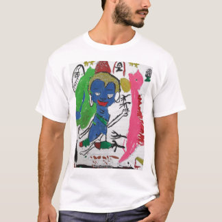 Medicine Buddha with Dragon T Shirt