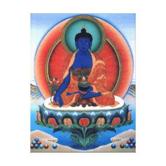 Medicine Buddha Wrapped Canvas