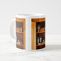 Medicine Chest with Asthma Medication Giant Coffee Mug