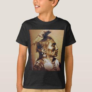 Medicine Crow Apsaroke Native American Indian T-Shirt