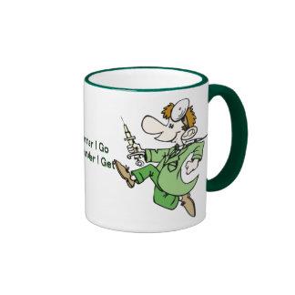 Medicine:  Doctors Ringer Coffee Mug
