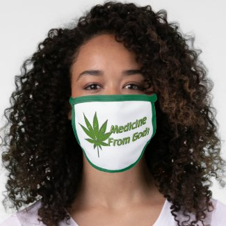 Medicine from God Face Mask