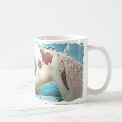 Medicine Hat Horse Mug