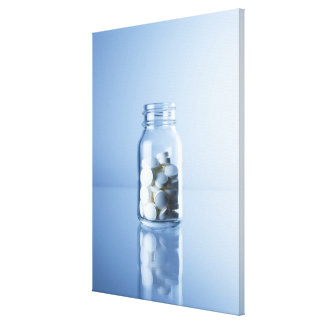 medicine in the bottle canvas print