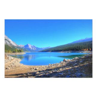 Medicine Lake Jasper National Park Art Photo