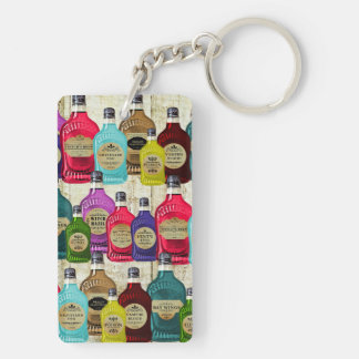 Medicine Man Magic Potion Apothecary Tonic Bottles Keychain