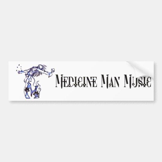 Medicine Man Music - Logo Bumper Sticker