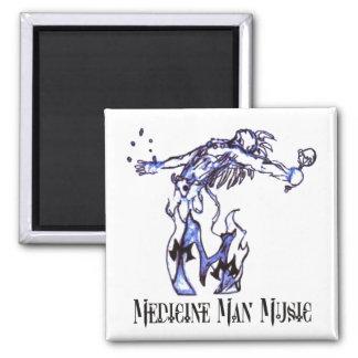 Medicine Man Music - Logo Magnet