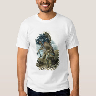 Medicine man of the Mandan tribe in the costume of T-Shirt