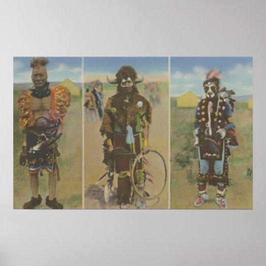 Medicine Men: Little Ogalala, Spotted Eagle Poster