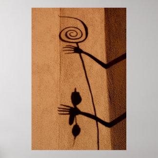 Medicine of Shadows, JLH print