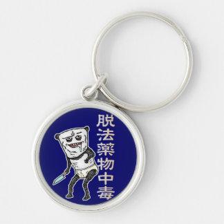 Medicine poisoning panda keychain